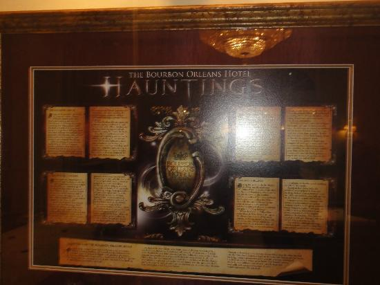 Bourbon Orleans Hotel: The hauntings...