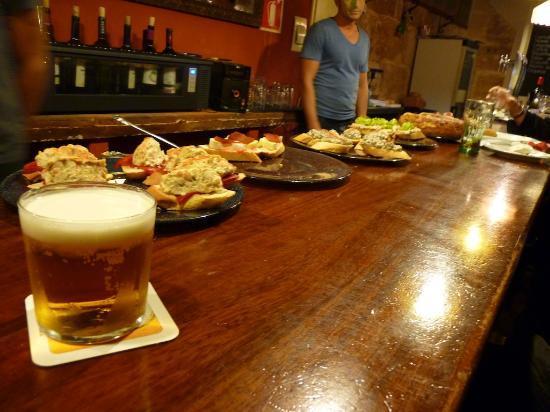 Bar Espana : Barra
