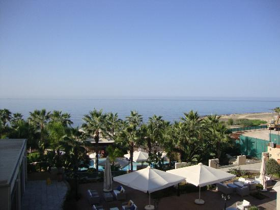 Aquamare Beach Hotel & Spa: Daytime view from room