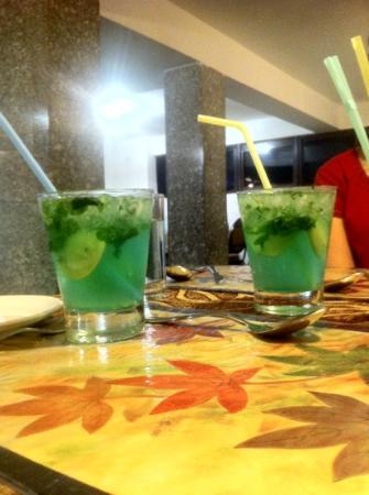 Pondicherry Executive Inn Pvt Ltd: mojito at the restaurant