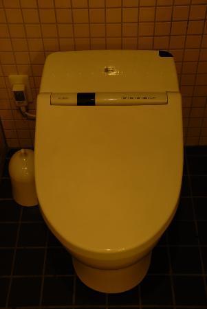 the b kobe: high-tech Japanese toilet