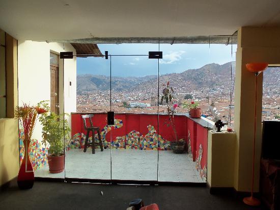 Hostal Wara Wara: Balcony