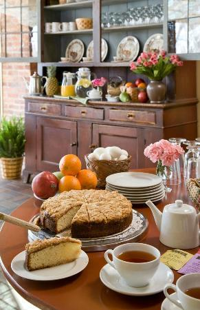 The Inn at Turkey Hill : Complimentary continental breakfast prepared by award winning chef Jen Yemola