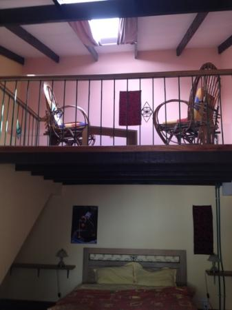 Casa Verde B&B: deluxe room with a mezzanine for reading