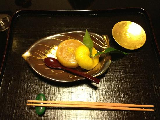 Kikunoi: miso lemon