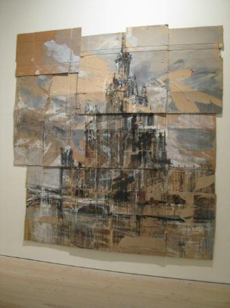 Paint on cardboard - Picture of Saatchi Gallery, London - TripAdvisor