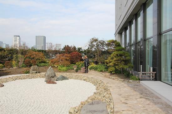The St. Regis Osaka: terrace rock garden
