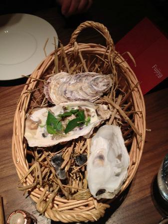 Fujiya 1935: oysters