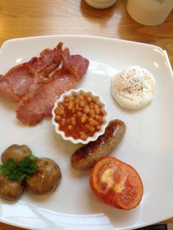 Dorian House: Pretty breakfast