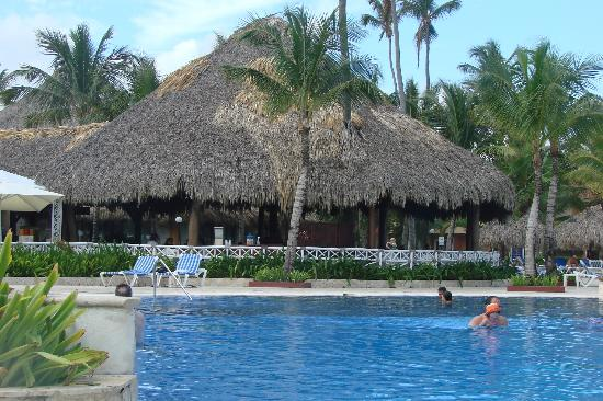 Grand Bahia Principe Punta Cana: The snack shack from across the pool.