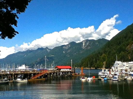 Horseshoe Bay Motel: View From the Dock