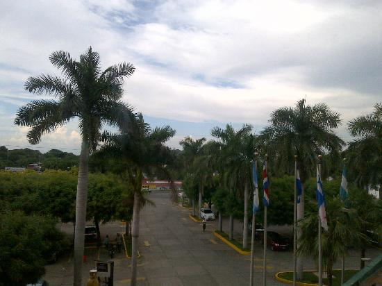 Holiday Inn Managua - Convention Center: Vista desde la habitacion