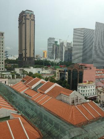 InterContinental Singapore : View from the room