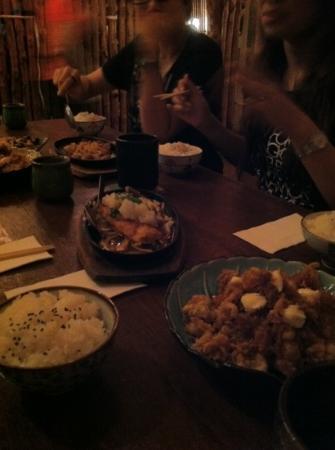 Aji Noren Japanese Restaurant: you got to try the chicken bam bam