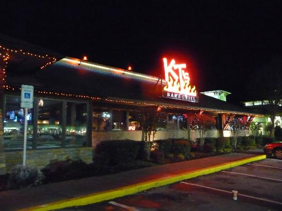 K.T.s: Front view at night