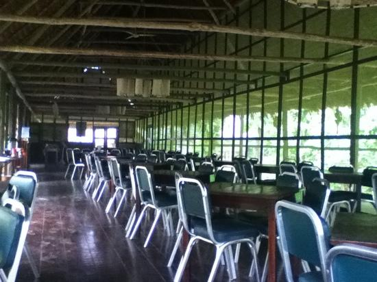 Amazon Explorama Lodges: dinning hall