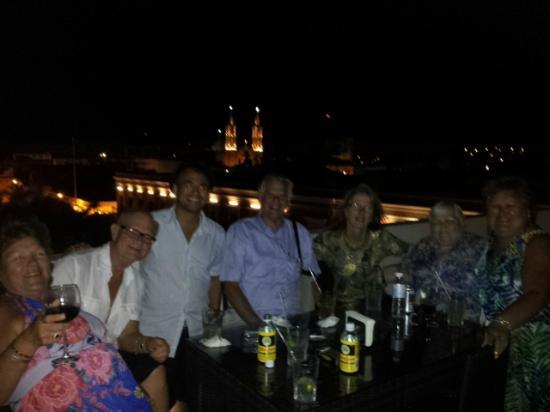 La Corteza Sky Bar: noche
