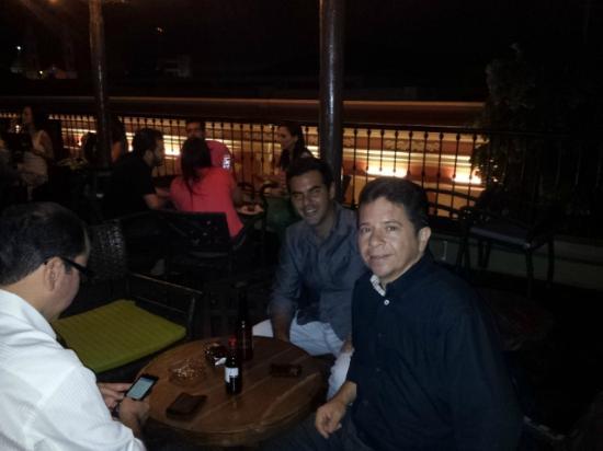 La Corteza Sky Bar: noche 2