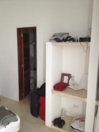 Villa Caracol: armadio stanza da letto