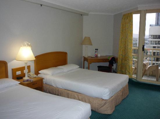 Hotel Grand Chancellor Surfers Paradise: Standard room