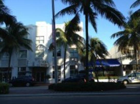Clinton Hotel South Beach: From across the street