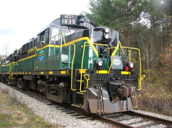 Adirondack Scenic Railroad: The engines