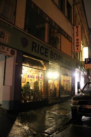 Rice Bowl Thai Cafe: Shopfront
