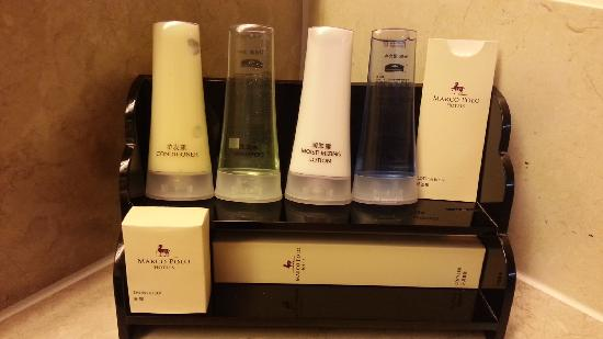 Marco Polo Plaza Cebu: toiletries
