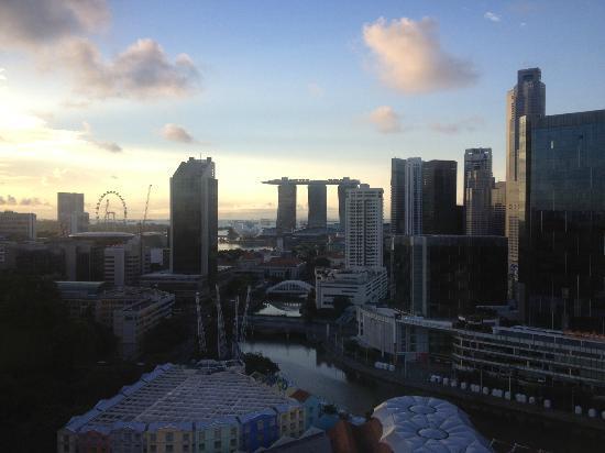 Novotel Singapore Clarke Quay : 部屋からの眺め