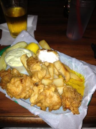 Quinn's Almost By The Sea: delish fish