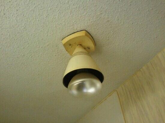 Days Inn by Wyndham Cambridge: Possibly dangerous heat lamp