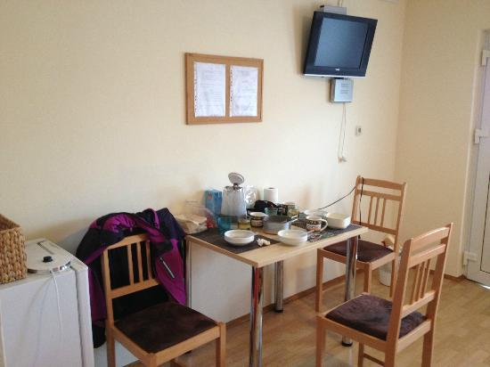 Guesthouse Franjkovic: Dinning area inside the room