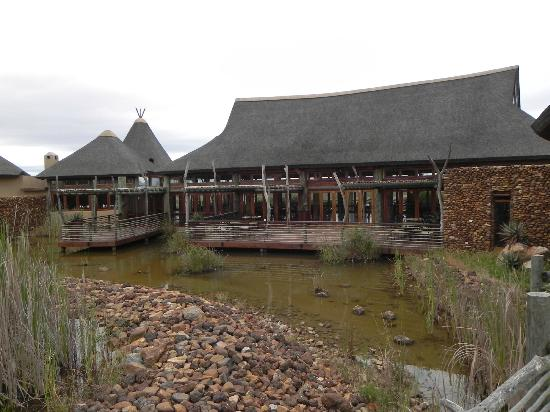 Garden Route Game Lodge: Restaurant