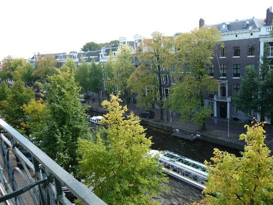 Banks Mansion: Herengracht view from our room