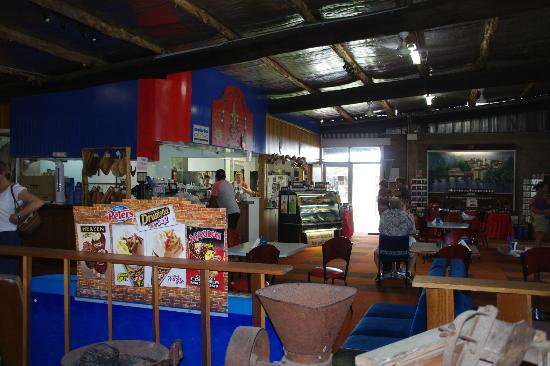 Tastes Of New Italy Caffe: The gift shop and cafe