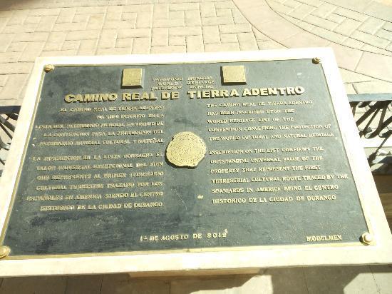 Calle Constitucion: UNESCO camino NOV2012