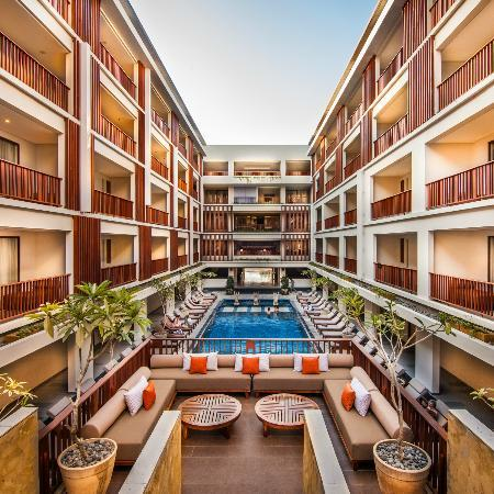 The Magani Hotel and Spa : Pool View