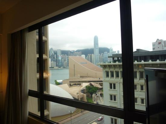 Sheraton Hong Kong Hotel & Towers: View from window (11th floor)