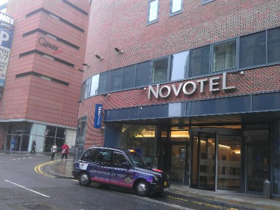 Rooms: Front Of Hotel With Q Parking To The Left Of The Novotel