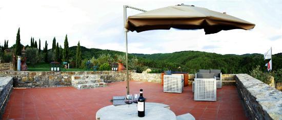 Borgo Casa Al Vento: Terrazza