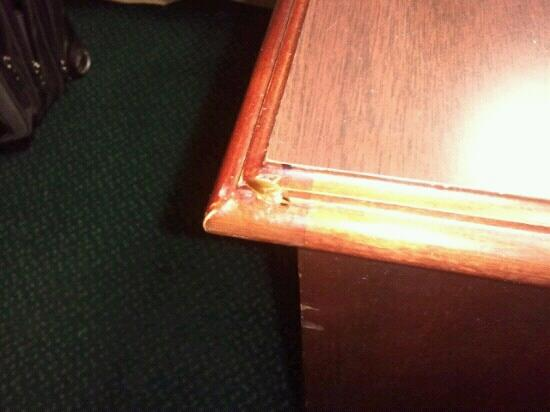 Days Inn Cambridge: Roach, well what's left after I killed him