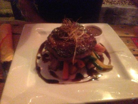 Green Ant Cantina: Slow cooked rib steak