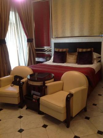 Baglioni Hotel Regina: The deco room in Regina Baglioni (room 307)