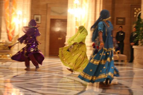 Umaid Bhawan Palace Jodhpur: Welcome Dance