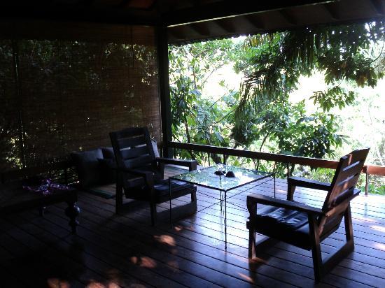 Jetwing Kurulubedda: Chalet sitting area