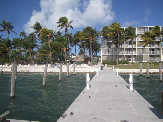 Amara Cay Resort: grounds from the dock
