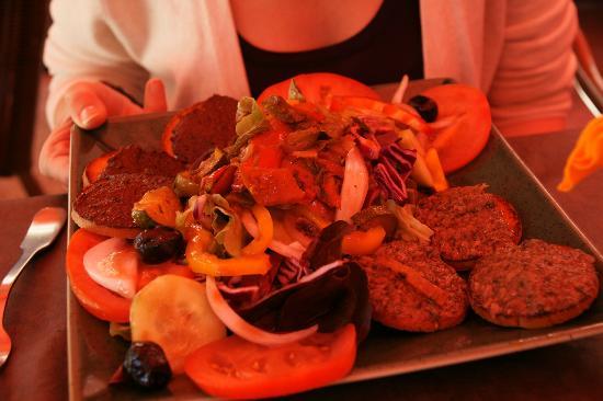 La Gourmandine : insalata