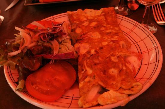 La Gourmandine : omlette