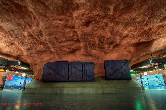 Guided Art Tours in the Stockholm Metro: Stockholm metro