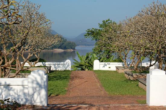 The Grand Luang Prabang Hotel & Resort: The Mekong view